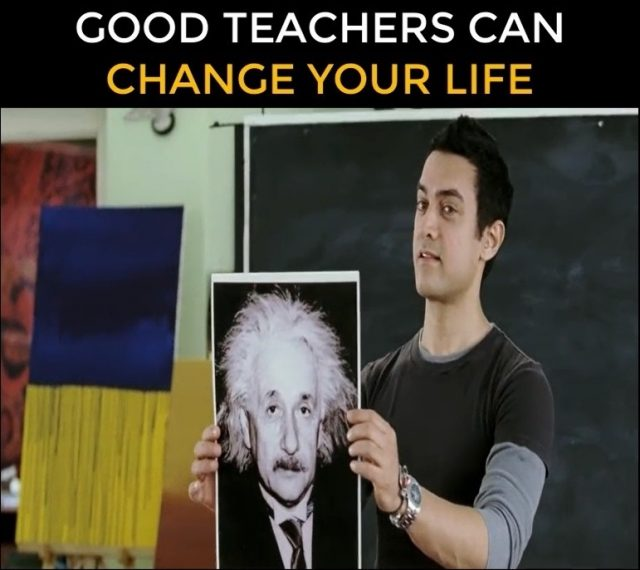 Profesorii buni îți pot schimba viața